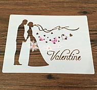 выпечке Mold Цветы Торты Пироги Своими руками Антипригарное покрытие Экологичность День Святого Валентина