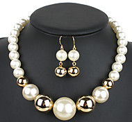cheap -Women's Jewelry Set Euramerican Wedding Party Special Occasion Congratulations Business Gift Daily Casual Resin Glass Others 1 Necklace 1