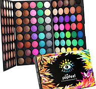 cheap -120 Colors Professional Eye Shadow Eyeshadow Palette Dry Matte&Glitter Smoky&Colorful Eyeshadow Powder Daily Party Makeup Cosmetic Palette Set