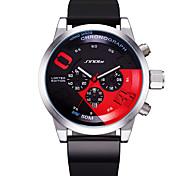 Недорогие -Муж. Для мужчин Спортивные часы Уникальный творческий часы Китайский Кварцевый Календарь Защита от влаги Светящийся Хронометр