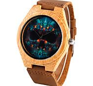 Муж. Детские Спортивные часы Нарядные часы Модные часы Наручные часы Часы-браслет Часы Дерево Японский кварц Панк Натуральная кожа Группа