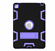 Для Защита от удара со стендом Поворот на 360° Кейс для Чехол Кейс для Геометрический рисунок Твердый PC для Apple iPad Pro 9.7''