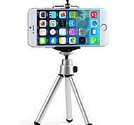 cheap -Mini Mobile Phone Camera Tripod Stand Clip Bracket Holder Mount Adapter For Self-Timer Phone Soporte For iphone Samsung Camera