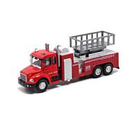 Модели автомобилей Машинки с инерционным механизмом Игрушечные машинки Пожарная машина Игрушки Металлический сплав Металл Куски Детские