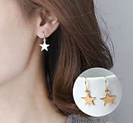 cheap -Women's Star Drop Earrings - Basic Cute Style Geometric Star For Party Daily Casual
