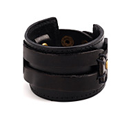 cheap -New Arrival Women's Men's Leather Bracelet Fashion Leather Round Jewelry For Party Special Occasion Gift Christmas Gifts 1pc