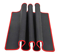 cheap -Large Black Red Edge Solid Mouse Pad(30x80x0.2cm)
