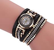 Women's Fashion Watch Bracelet Watch Casual Watch Quartz Imitation Diamond Rhinestone Fabric BandCharm Unique Creative Luxury Elegant Strap Watch