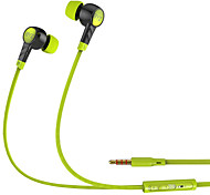 BYZ K61 Mobile Earphone for Computer In-Ear Wired TPE 3.5mm With Microphone Noise-Cancelling