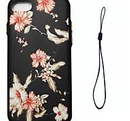Для яблока iphone 7 7 плюс 6s 6 плюс se 5s 5 обложка для утреннего славы шаблон впрыск топлива облегчение обшивка кнопка толстый тпу