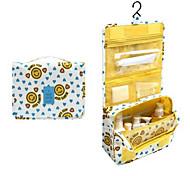 Kit de voyage 1pcs étanche pochette portable suspendue sacs de lavage couleur aléatoire