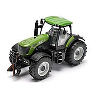 Недорогие -MZ Игрушечные машинки Игрушки Машинки с инерционным механизмом Фермерская техника Трактор Игрушки Автомобиль Металлический сплав Металл