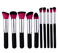 cheap -10pcs Professional Makeup Brushes Makeup Brush Set Nylon Professional Wood Face / Eyebrow / EyeShadow
