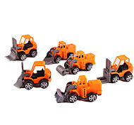 cheap -Pull Back Car/Inertia Car Pull Back Vehicles Toy Cars Construction Vehicle Simulation Toys Plastic Unisex Gift