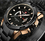 cheap -NAVIFORCE Men's Wrist watch Military Watch Fashion Watch Sport Watch Casual Watch Japanese Quartz Calendar / date / day Water Resistant /