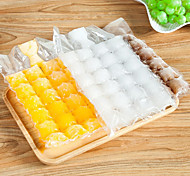 cheap -10Pcs/Set 30*19Cm Portable Disposable Ice Packs Ice Tray Ice Cube Bags Mold Self-Sealing DIY