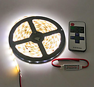 Z®ZDM Waterproof 5M 600X3528 Smd Led Strip Light and 11Key RF Controller