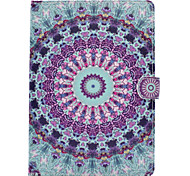 For iPhone iPad (2017) iPad Pro 9.7'' Mandala Painted Pattern PU Leather Material Flat Protective Cover Case for iPad 2 / 3 / 4 iPad Air 2 Air