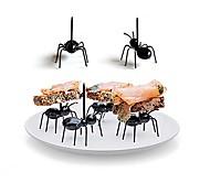 12Pcs/Set    Reusable Kawaii Ant Fruit Fork Newest Tableware Multiple Use Snack Cake Dessert Forks For Party Fruit Pick