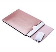 cheap -Sleeves for Solid Colored PU Leather New MacBook Pro 15-inch / New MacBook Pro 13-inch / MacBook Air 13-inch