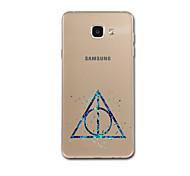 Для Samsung a3 (2017) a5 (2017) a7 (2017) a8 чехол для ключей ультратонкий рисунок задняя крышка корпус геометрический рисунок soft tpu