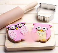 1Pcs DIY Owl Cutter Cookie Metal Alloy Cake Bakeware Mould Cookie Cutters Biscuit Kitchen Baking   Cutter Cookie
