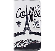 For Huawei P10 Lite P10 PU Leather Material Tower Pattern Painted  Phone Case P8 Lite (2017) Honor 6X Nova Honor 8 Honor 5C