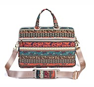 "cheap -Canvas Bohemian Style Flower Handbags Shoulder Bag 15"" Laptop"