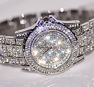 cheap -Women's Pave Watch Simulated Diamond Watch Unique Creative Watch Wrist watch Dress Watch Fashion Watch Chinese Quartz Rhinestone /