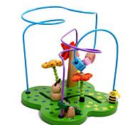 Недорогие -Конструкторы Обучающая игрушка Пазлы и логические игры Для получения подарка Конструкторы Дерево 2-4 года 5-7 лет Игрушки