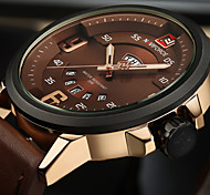 NAVIFORCE Men's Sport Watch Military Watch Fashion Watch Casual Watch Wrist watch Unique Creative Watch Japanese Quartz Calendar Water