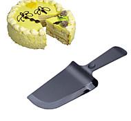 1Pcs Cake Cream Knife Plastic Fondant Pastry Cake Cutter DIY Tool Random Color