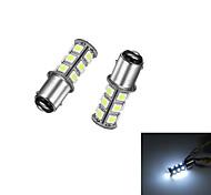 cheap -2Pcs 1157 18*5050SMD LED Car Light Bulb White Light DC12V