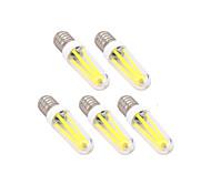Недорогие -5 шт. 4 Вт. 300 lm E14 G9 LED лампы накаливания T светодиоды Диммируемая Тёплый белый Холодный белый AC 220-240V