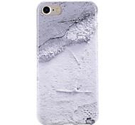 Недорогие -Для яблока iphone 7 7 плюс крышка корпуса модель задняя крышка корпус цвет градиент мрамор мягкий тпу 6с плюс 6 плюс 6с 6