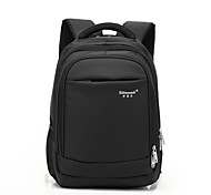 15-Inch Computer Laptop Bag Waterproof Shock Breathable Polyester Material Black/Brown/Gray