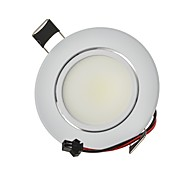 cheap -3W 250 lm 2G11 LED Downlights Recessed Retrofit 1 leds COB Dimmable Decorative Warm White Cold White AC 110-130V AC 220-240V
