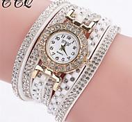 Watch Women Luxury Gemstone Dress Watches Women Gold Bracelet Watch Female Leather Quartz Wristwatches