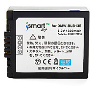Ismartdigi BLB13 7.2V 1300mAh Camera Battery for Panasonic DMC- GF1 G1 GH1 G2 G10
