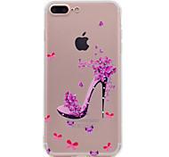 Недорогие -Для iphone 7 плюс 7 корпус телефона красная обувь модель мягкий материал для телефона tpu телефон 6s плюс 6 плюс 6s 6 se 5s 5