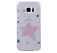 For Samsung Galaxy S8 S8 Plus Case Cove Star Pattern Flash Powder IMD Process TPU Material Phone Case S7 S6 Edge