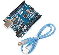 Недорогие -Улучшенная версия uno r3 плата atmega328p совместимая для arduino