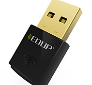 Edup usb wifi adaptador inalámbrico 300mbps wirless tarjeta de red wifi dongle mini ep-n1557