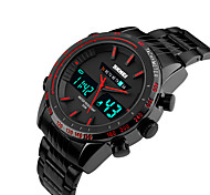 cheap -Smart Watch Water Resistant / Water Proof Long Standby Multifunction Sports Stopwatch Alarm Clock Chronograph Calendar Dual Time Zones