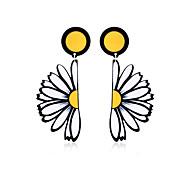 Недорогие -Жен. Серьги-слезки Бижутерия Базовый дизайн Акрил Богемия Стиль обожаемый Ручная работа Массивные украшения Акрил Геометрической формы