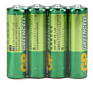 cheap -GP Green Cell Super Carbon Battery Rechargeable Battery 15G R6P Aa 1.5V