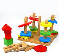 Недорогие -Игры с последовательностью Для получения подарка Конструкторы Модели и конструкторы Квадратная Дерево 2-4 года 5-7 лет Игрушки