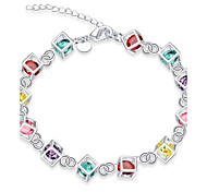 cheap -Women's Chain Bracelet Charm Bracelet Cubic Zirconia Synthetic Opal Tattoo Style Vintage Bohemian Natural Friendship Turkish Hip-Hop