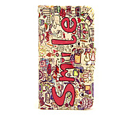 cheap -Case for Apple iPhone 7 7 Plus iPhone 6s 6 Plus Case Cover The Smile English Pattern PU Leather Cases for iPhone SE 5s 5c 5 iPhone 4s 4