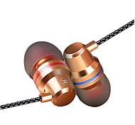 Стерео наушники-вкладыши с высоким уровнем шума с шумопонижающими наушниками в наушниках с микрофоном